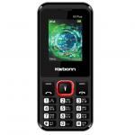 Karbonn K5 Plus (Dual SIM, Black and Red)
