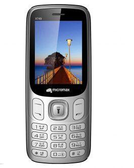 Micromax X749 Silver Phone