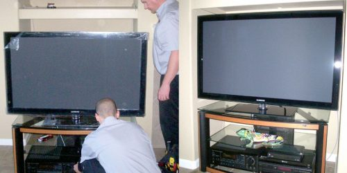 Consider the professional who is specialized in TV repair