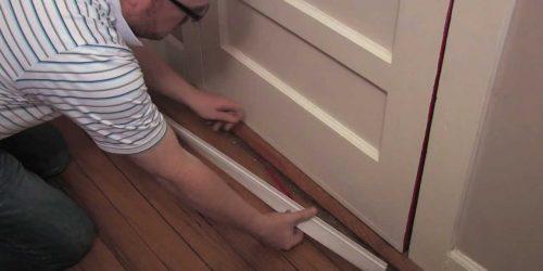 To repair the door seals
